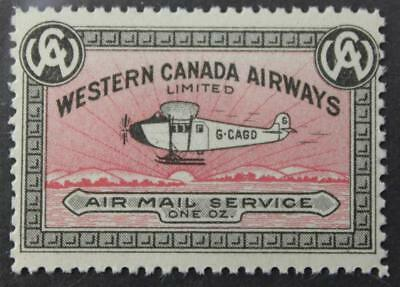 #CL40a MNH OG, Semi-Official Air Post, Pale Rose Shade, 1927 Issue