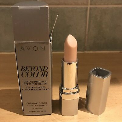 Avon~BEYOND COLOUR~Plumping Lip Conditioner SPF 15~BOXED