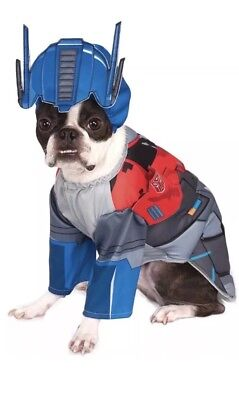 Rubies Transformers Pet Deluxe Optimus Prime Costume - Size Small