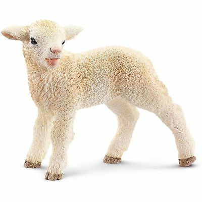 Schleich 13744 - Lamb Standing - Standing Toy Figure -  New with tag - NIP