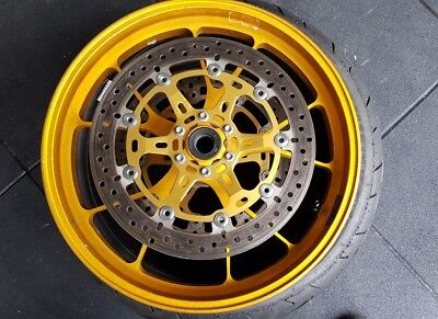 EVO Forged Front Wheel with Brembo Disks - 2013 APRILIA RSV4 FACTORY