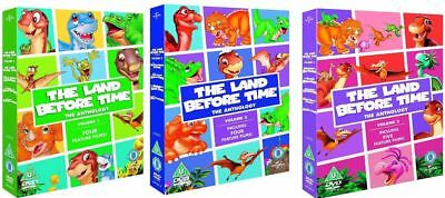 "The Land Before Time Complete Movie Collection 1-13 Dvd Box Set 13 Disc R4 ""New"""