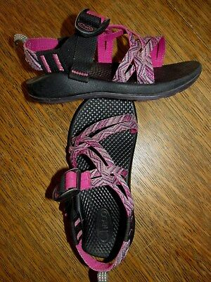 b22056399d4c CHACO CHACOS SANDALS 12 Pink Purple Double Strap -  25.89
