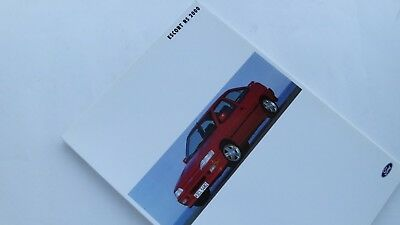 FORD - Presse-Information - Escort RS 2000 - 1991 - 115043gbs