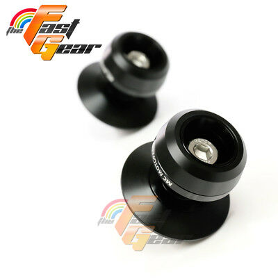 Twall Protector Black Swingarm Spools Sliders Fit Suzuki GSX650F 2008-2018