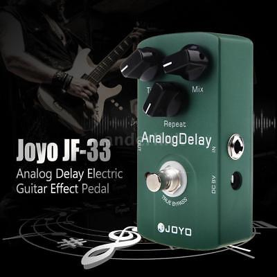 Joyo JF-33 Green Analog Delay Electric Guitar Effect Pedal True Bypass+Free Ship