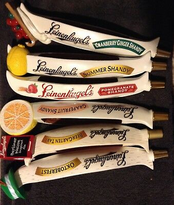 BEER TAP LOT of LEINENKUGELS Beer tap handles CANOE tap handles