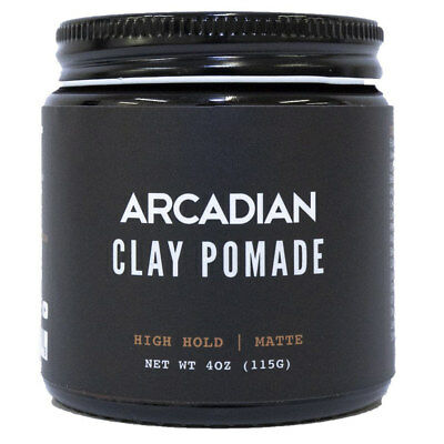 Arcadian Grooming Matte Clay Pomade 4oz