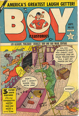 Boy Comics #93 ( Lev Gleason)