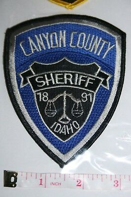 CANYON COUNTY SHERIFF'S (Idaho) Uniform Take-Off Shoulder Patch from