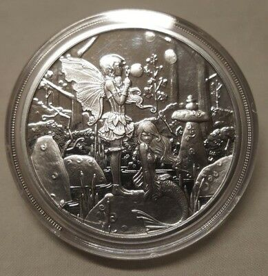 Second Cousins 1oz Silver Proof Round Fairy Coin #3 The Amy Brown Collection