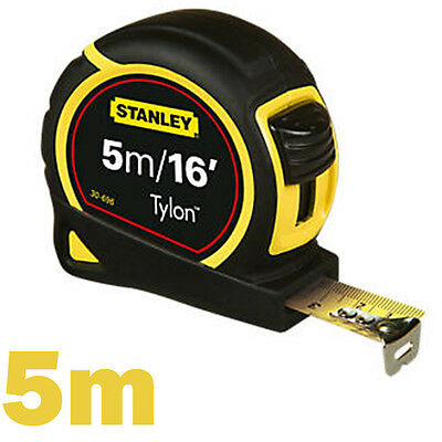 Stanley Tylon Retractable Tape Measure Length: 5m (16ft) x Width: 19mm New