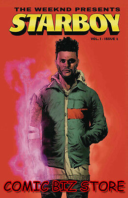 Weeknd Presents Starboy #1 (2018) 2Nd Printing Bagged & Boarded Marvel Comics