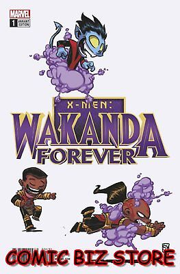 Wakanda Forever X-Men #1 (2018) 1St Printing Skottie Young Variant Cover ($4.99)