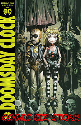 Doomsday Clock #6 (Of 12) (2018) 1St Printing Bagged & Boarded Dc Comics ($4.99)