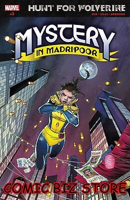 Hunt For Wolverine Mystery Madripoor #3 (Of 4) (2018) 1St Printing Main Cover