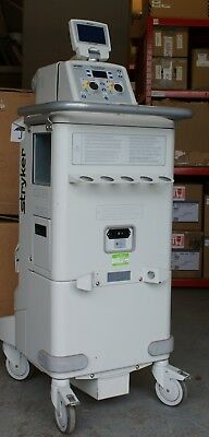 STRYKER NEPTUNE 2 SURGICAL WASTE MANAGEMENT SYSTEM & DRIVEN IV Pole