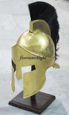 Medieval Shiny Brass Finished Roman Greek 300 King Leonidas Spartan Armor Mt365