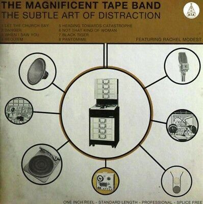 The Magnificent Tape Band - Subtle Art Of Distraction CD Ata Records NEW