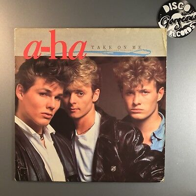 a ha take on me extended uk original 12 ex vg w9006t synth pop