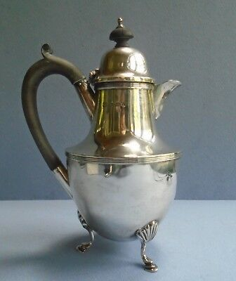 British Sterling Silver Hot Milk Jug Birmingham 1905 by George Unite