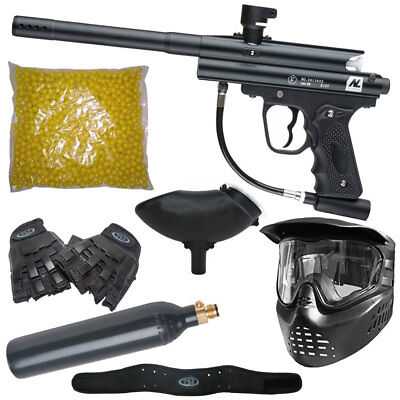 New Legion Riot CO2 MEGA Sparpaket inkl. Maske, Handschuhe, Paintballs...