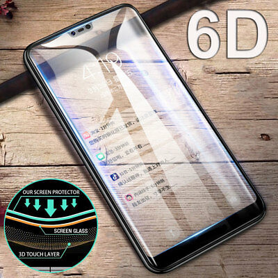 6D Curved Full Glue Temper Glass Film for AMSUNG A6 J6 Plus /A8 Screen Protector
