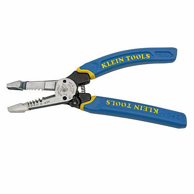 Klein Tools K12055 Klein-Kurve® Heavy-Duty Wire Stripper 10 - 20 AWG
