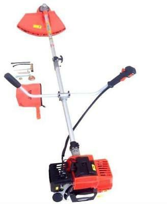 2in1 Strimmer 52CC Powerful Petrol Garden Grass Brush Cutter (Free Tool Kit)