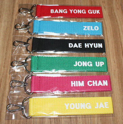 B.a.p Bap 2018 Live [Limited] In Seoul Official Goods Strap Keyring Key Ring New