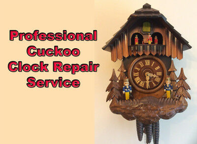 Cuckoo Clock Repair. Professional Service & Repair