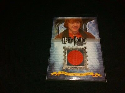 Harry Potter Half Blood Prince C2 Rupert Grint (Ron Weasley) Costume Card