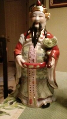 antique chinese porcelain figure immortals early 20th century