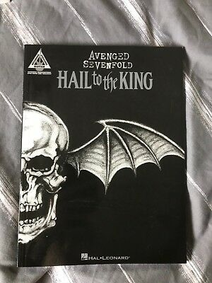 Avenged Sevenfold Guitar tab book - Hail to the King (2011)