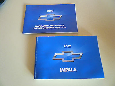2002 chevy impala owners manual 13 47 picclick rh picclick com 2002 chevy impala owners manual online 2002 chevrolet impala owner's manual