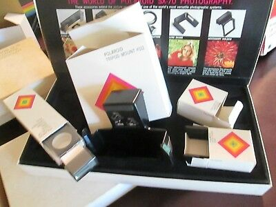 Lot Polaroid Sx-70 Accessory Kit none complete extra boxes for original boxes