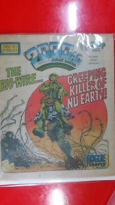 2000AD PROG  317  Dredd. 1st Appearance of D.R. & Quinch by Alan Moore Key Issue
