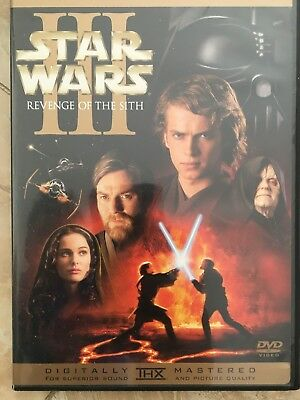 Star Wars Episode III: Revenge of the Sith (DVD, 2- Disc Set)
