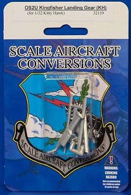 Scale Aircraft Conversions 32119 - OS2U Kingfisher Landing Gear 1/32