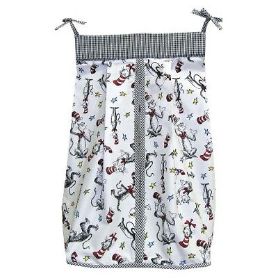 Trend Lab Dr. Seuss Cat in the Hat Diaper Stacker Fast shipping