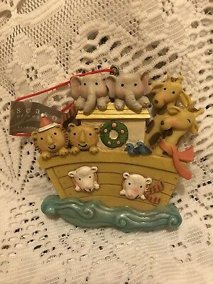 Noah's Ark Whimsical Christmas Ornament