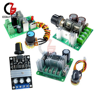 3/10/15A PWM Motor Adjuster Speed Control Switch DC 6V-28V/6-90V/12V-36V/12V-40V