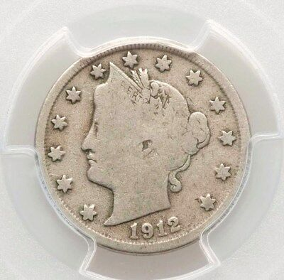 1912-S PCGS G06 Liberty Head Nickel Key Date Nice Type Coin 6 Letters in LIBERTY