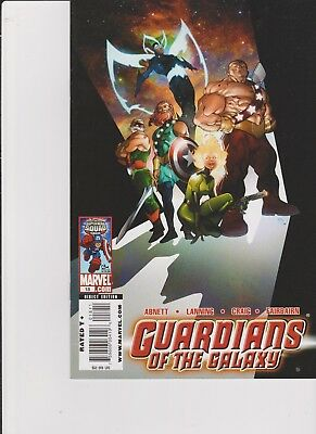 guardians of the galaxy comic lot issues 13/14/15/16/17/18 -  2009