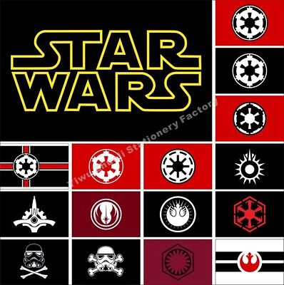 Star Wars Flag 3X2FT 5X3FT 6X4FT Sith Empire Jedi Order First Galactic Empire