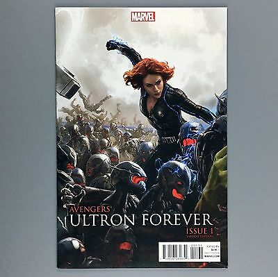 Avengers Ultron Forever #1 1:25 Marvel Cinematic Universe BLACK WIDOW Variant NM