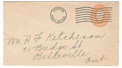 1920's Dunlop Tires Canada Post Office Machine Cancel Advertising Cover 1c PSE