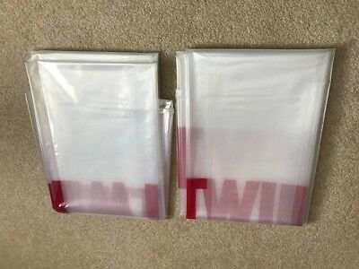 "2 pack of 3 mil HD Twin Mattress Bag /Box Spring/ Cover For Moving 94""x39""x12"""