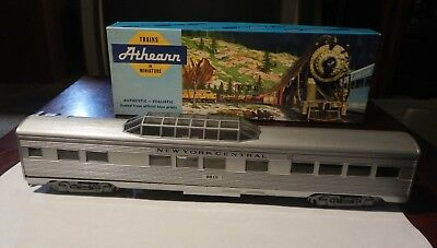 HO Scale Athearn NYC SL New York Central Vista Dome Passenger Car. NEW In Box 2.