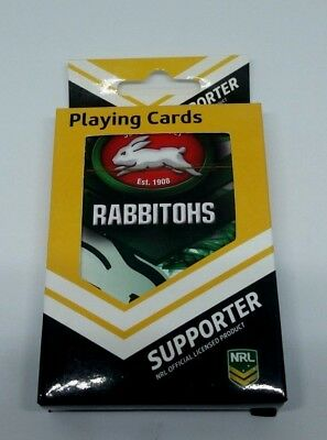 NRL South Sydney Rabbitohs Playing Cards Team Logo Mascot Deck of Cards SEALED
